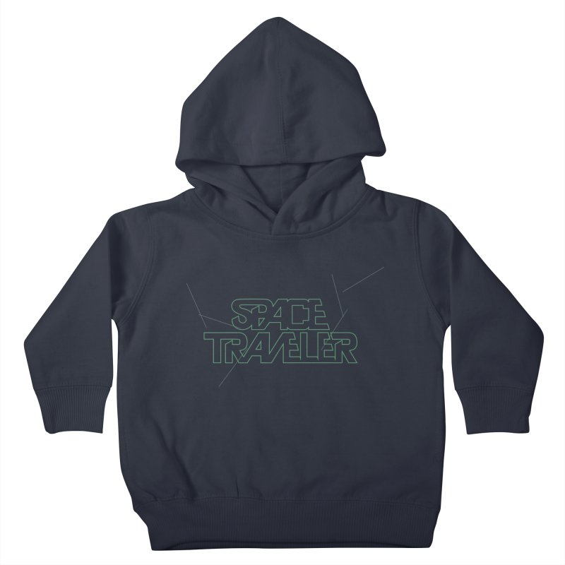 Space Traveler Kids Toddler Pullover Hoody by Kid Radical