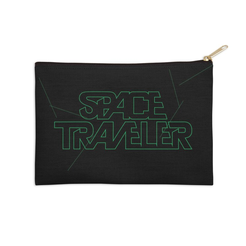 Space Traveler Accessories Zip Pouch by Kid Radical