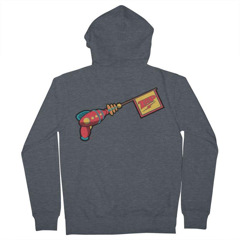 Ray Gun Women's Zip-Up Hoody by Kid Radical