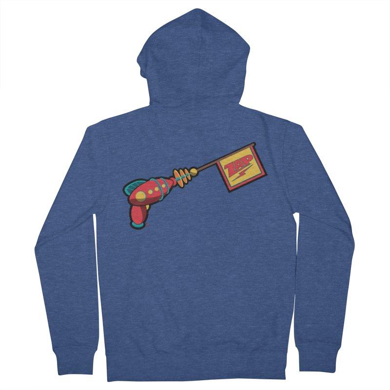 Ray Gun Men's Zip-Up Hoody by Kid Radical