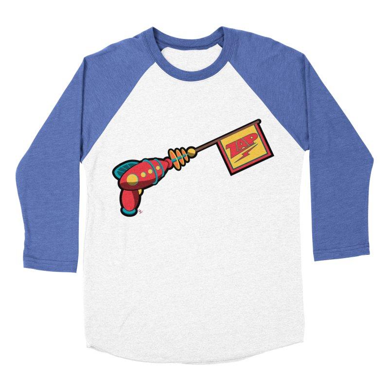Ray Gun Women's Baseball Triblend T-Shirt by Kid Radical