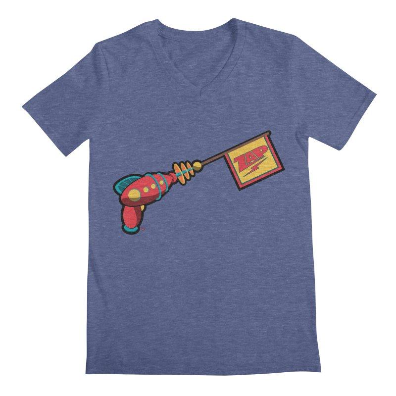 Ray Gun Men's V-Neck by Kid Radical