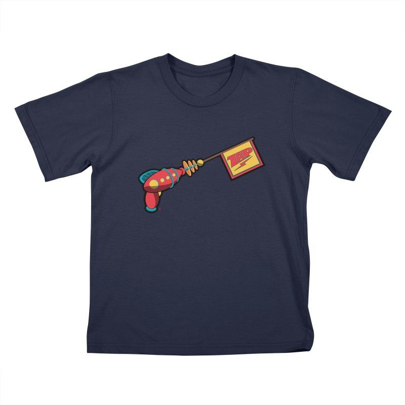 Ray Gun Kids Toddler T-Shirt by Kid Radical