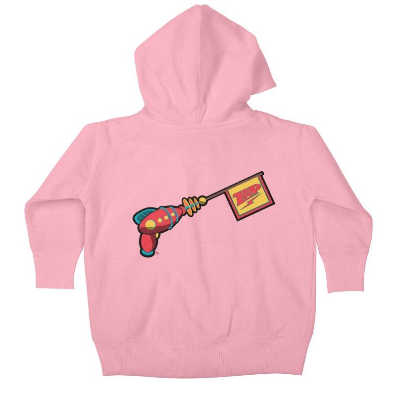 Ray Gun Kids Baby Zip-Up Hoody by Kid Radical
