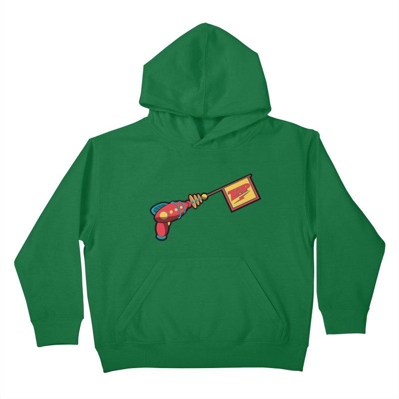Ray Gun Kids Pullover Hoody by Kid Radical
