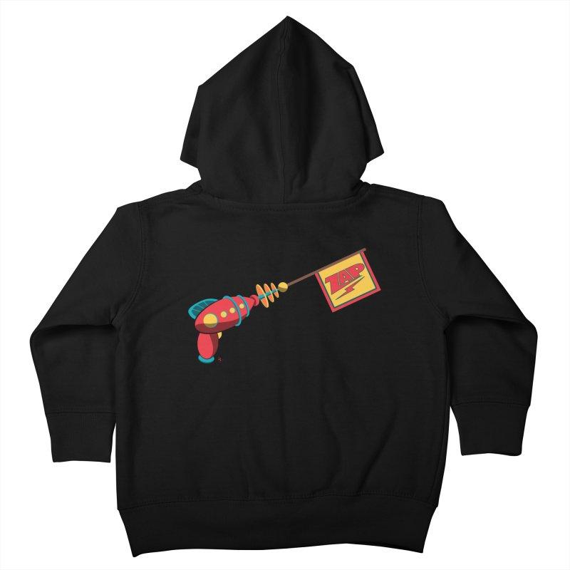 Ray Gun Kids Toddler Zip-Up Hoody by Kid Radical