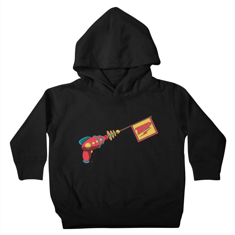 Ray Gun Kids Toddler Pullover Hoody by Kid Radical