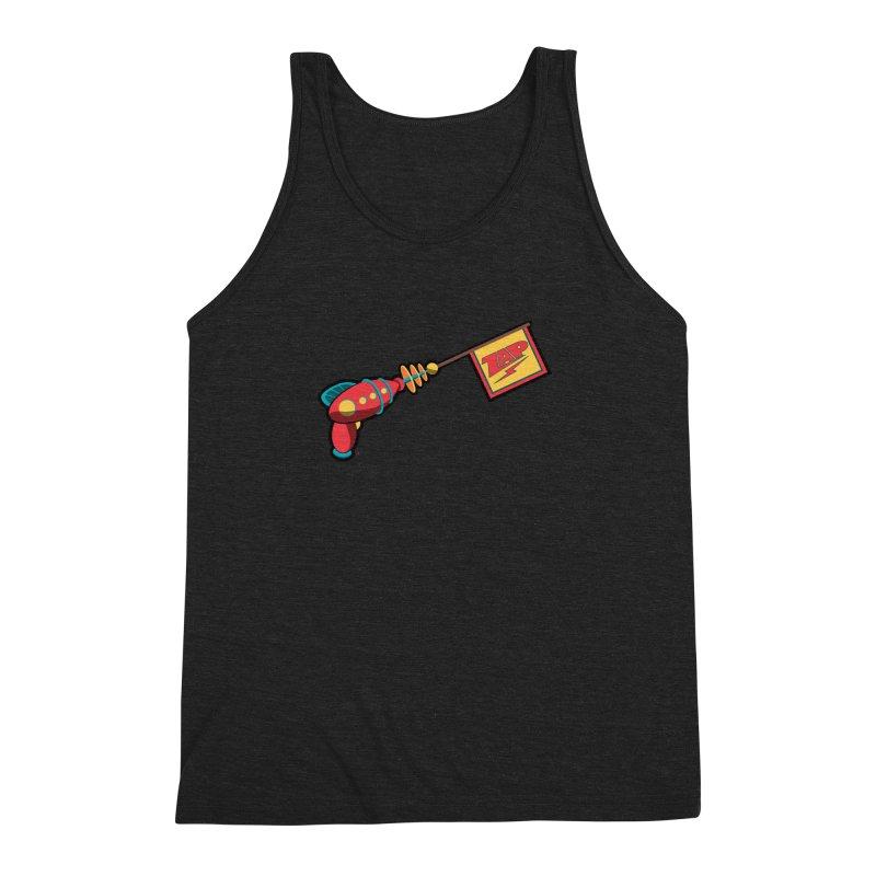 Ray Gun Men's Triblend Tank by Kid Radical