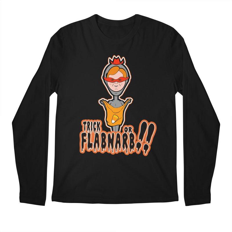 Trick or Flabnarb! (Cowboy) Men's Longsleeve T-Shirt by Kid Radical