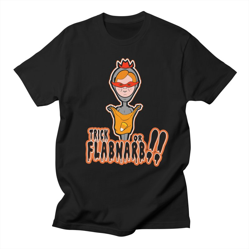 Trick or Flabnarb! (Cowboy) Men's T-shirt by Kid Radical