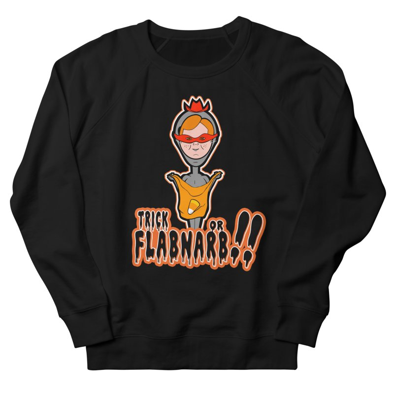 Trick or Flabnarb! (Cowboy) Men's Sweatshirt by Kid Radical