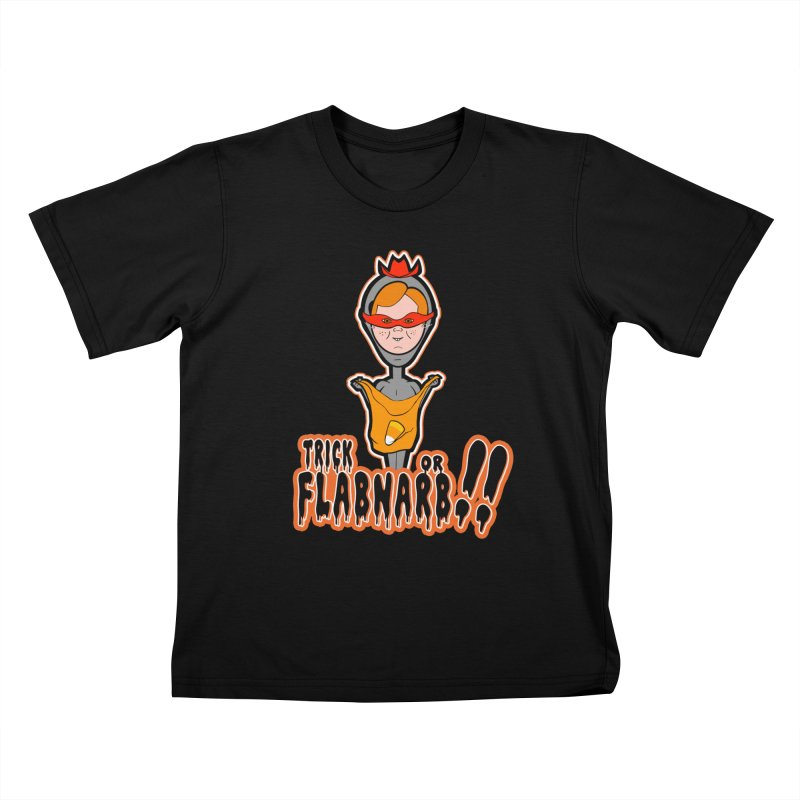 Trick or Flabnarb! (Cowboy) Kids Toddler T-Shirt by Kid Radical