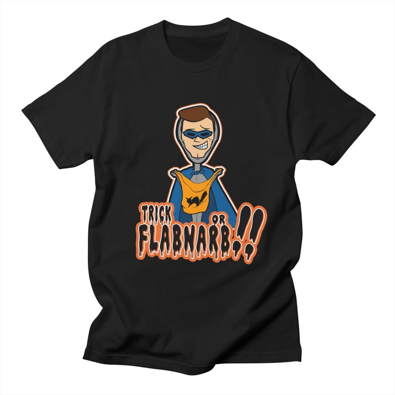 Trick or Flabnarb! (Superhero) Men's T-shirt by Kid Radical