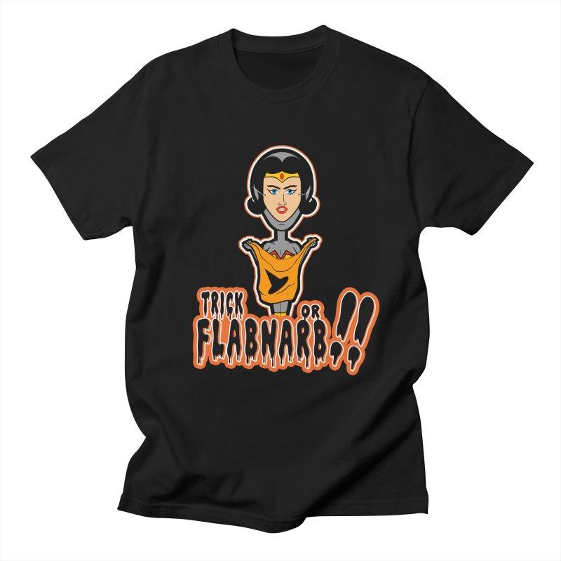 Trick or Flabnarb! (Superhero 2) Men's T-shirt by Kid Radical