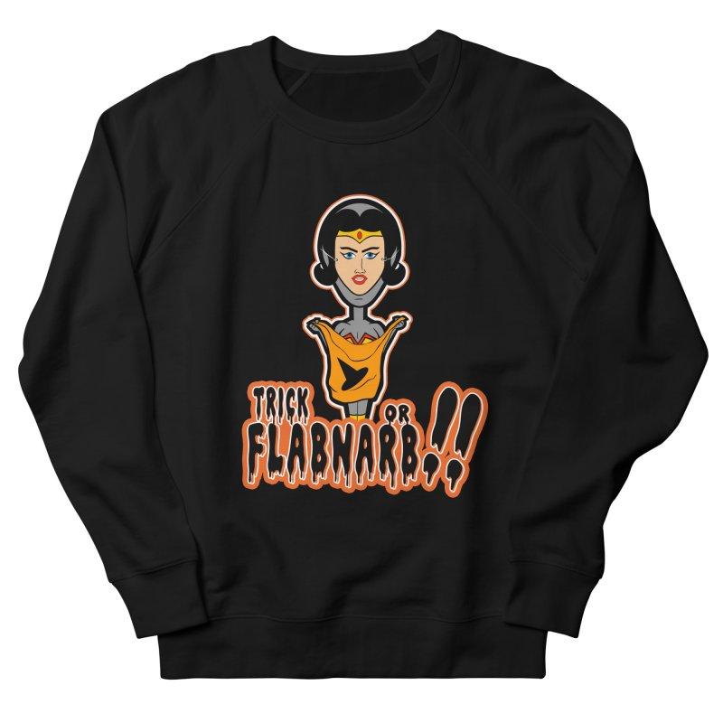 Trick or Flabnarb! (Superhero 2) Women's Sweatshirt by Kid Radical