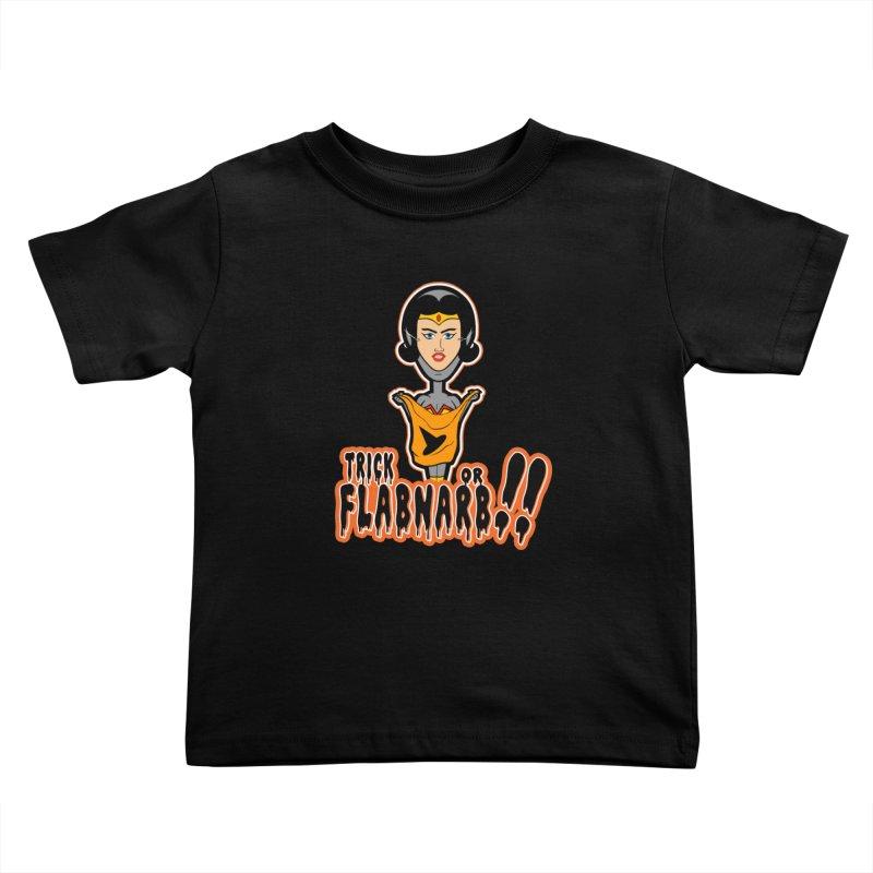 Trick or Flabnarb! (Superhero 2) Kids Toddler T-Shirt by Kid Radical