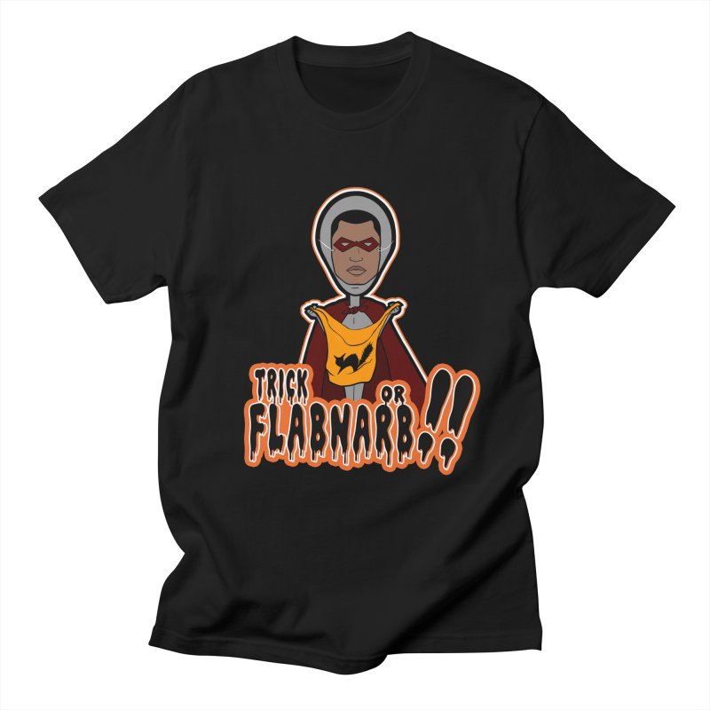 Trick or Flabnarb! (Superhero 3) Men's T-shirt by Kid Radical