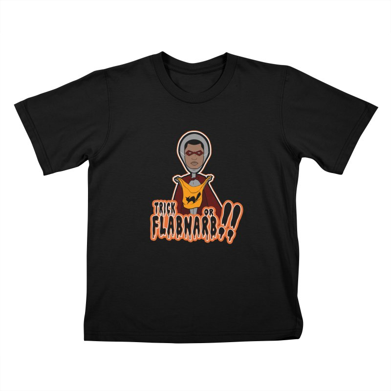 Trick or Flabnarb! (Superhero 3) Kids Toddler T-Shirt by Kid Radical