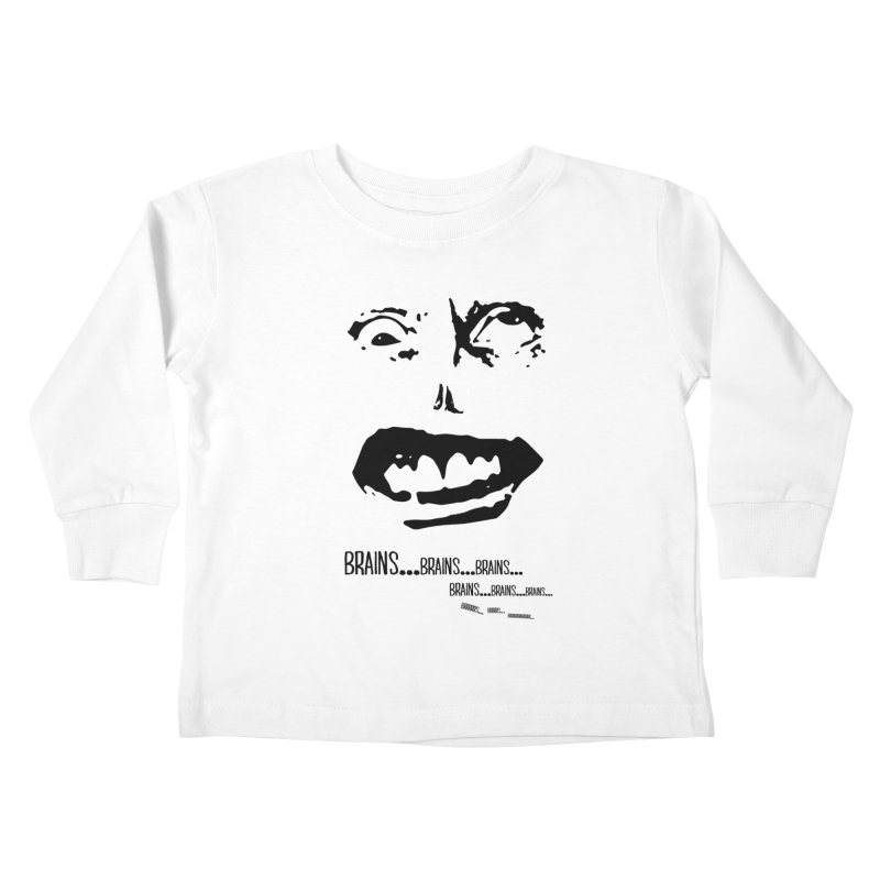 Can't Focus Kids Toddler Longsleeve T-Shirt by Kid Radical