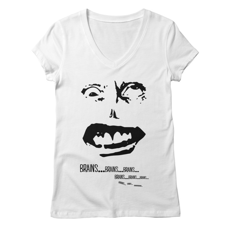 Can't Focus Women's V-Neck by Kid Radical