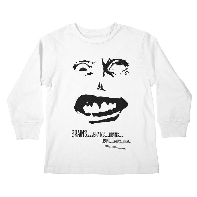 Can't Focus Kids Longsleeve T-Shirt by Kid Radical