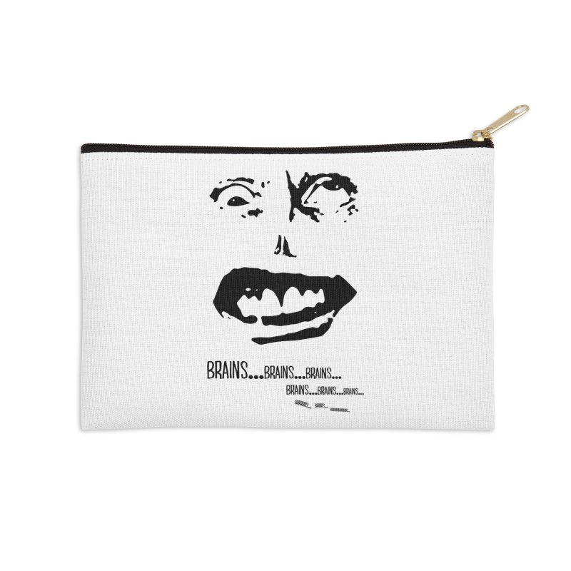 Can't Focus Accessories Zip Pouch by Kid Radical