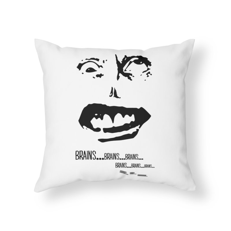 Can't Focus Home Throw Pillow by Kid Radical