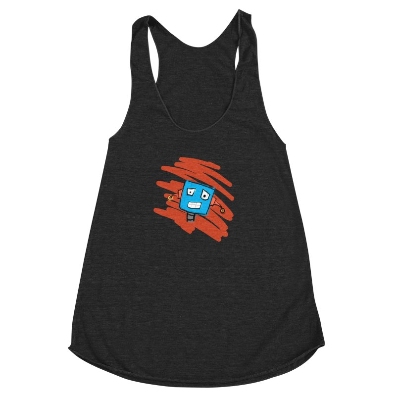 So Embarrassed Women's Racerback Triblend Tank by Kid Radical