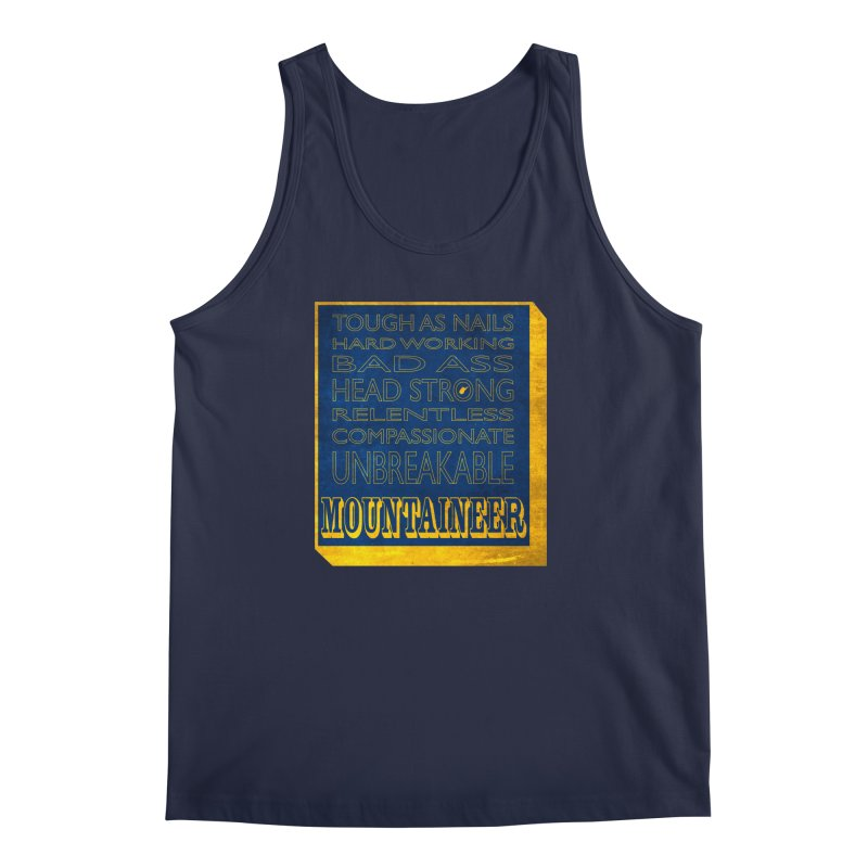 Mountaineer For Life Men's Tank by Kid Radical