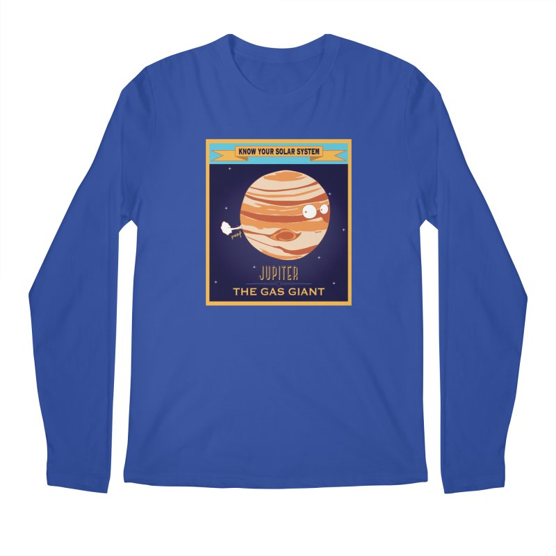 The Gas Giant Men's Longsleeve T-Shirt by Kid Radical