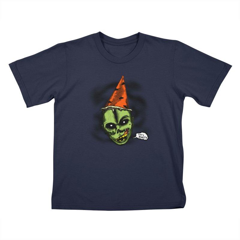 Halloween Night's Alright Kids Toddler T-Shirt by Kid Radical