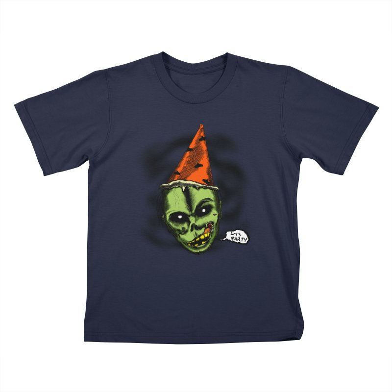 Halloween Night's Alright Kids Toddler T-Shirt by Kid Radical