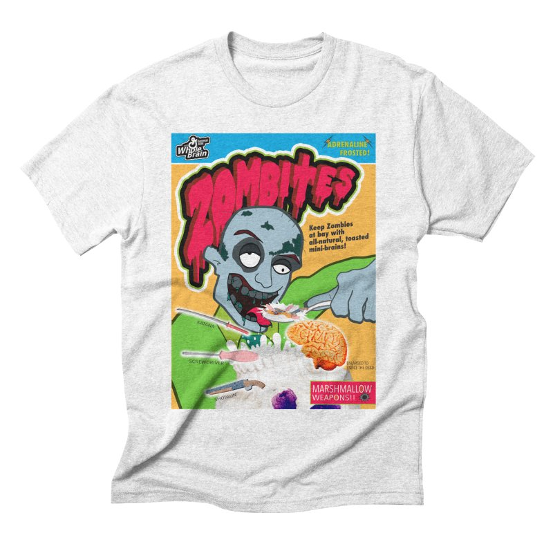 Zombites Men's Triblend T-shirt by Kid Radical