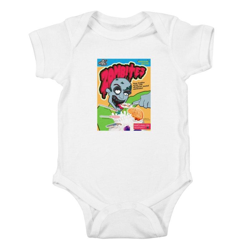 Zombites Kids Baby Bodysuit by Kid Radical