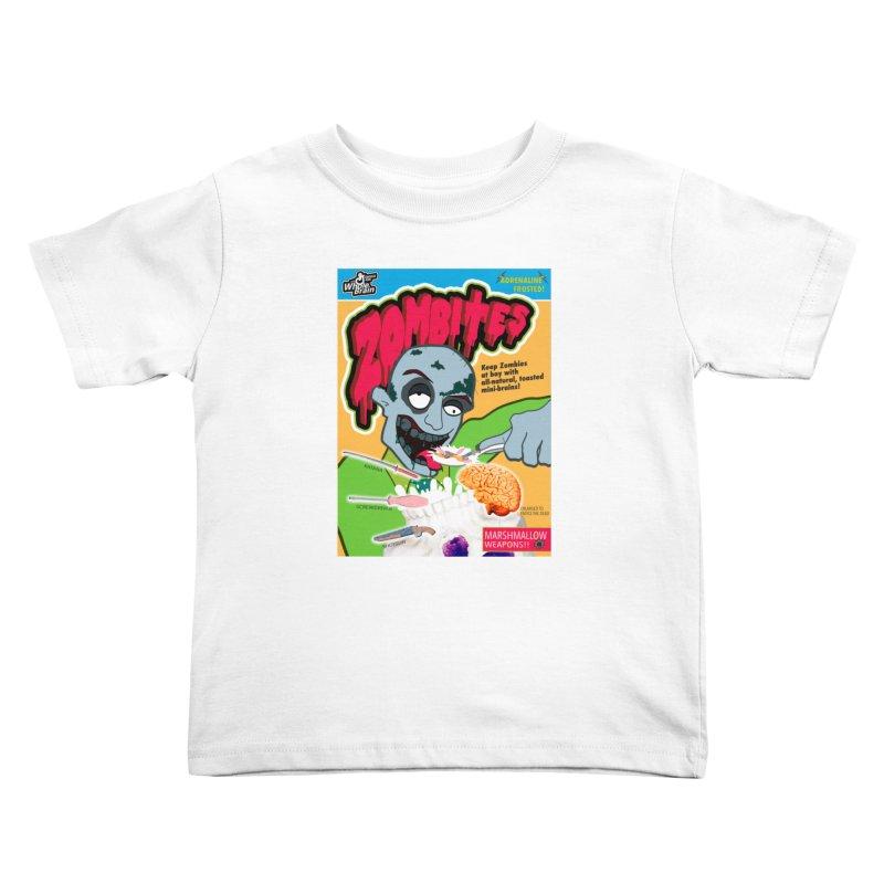 Zombites Kids Toddler T-Shirt by Kid Radical
