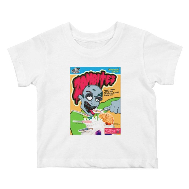 Zombites Kids Baby T-Shirt by Kid Radical