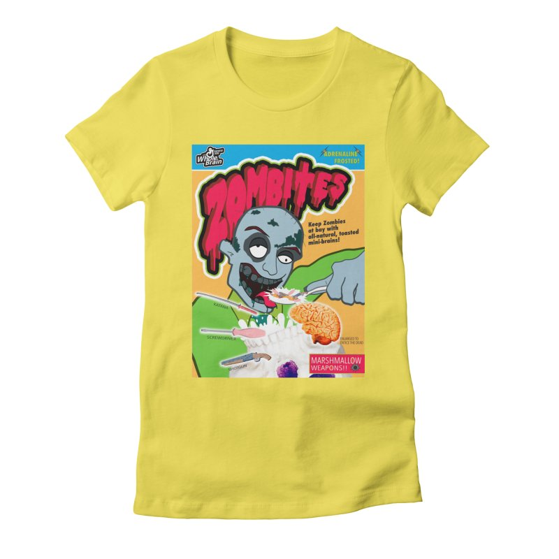 Zombites Women's Fitted T-Shirt by Kid Radical