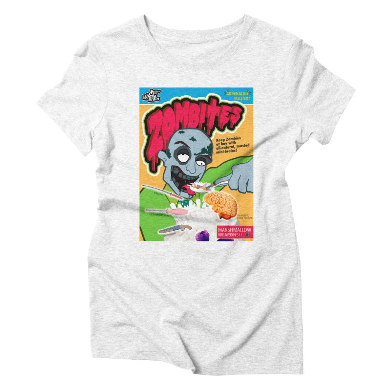 Zombites Women's Triblend T-shirt by Kid Radical