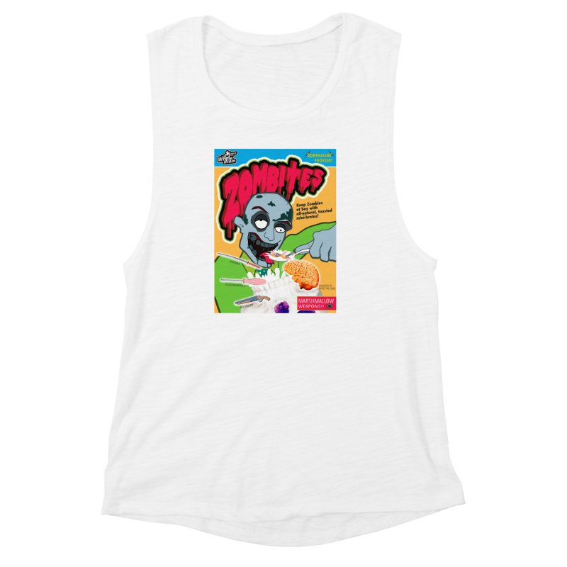 Zombites Women's Muscle Tank by Kid Radical