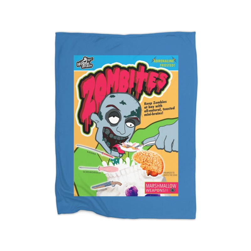 Zombites Home Blanket by Kid Radical