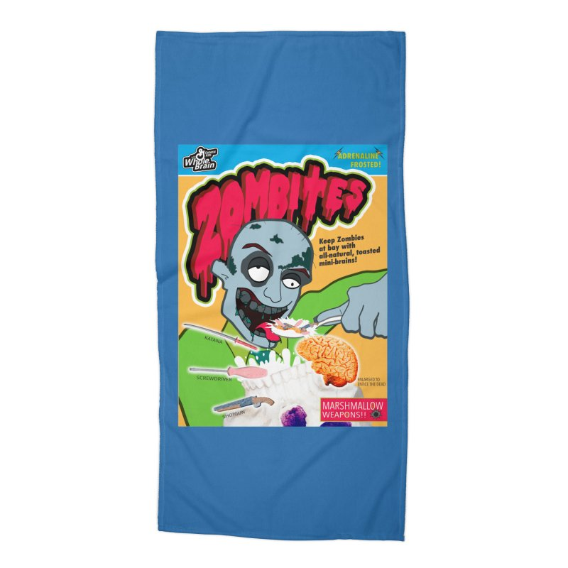 Zombites Accessories Beach Towel by Kid Radical