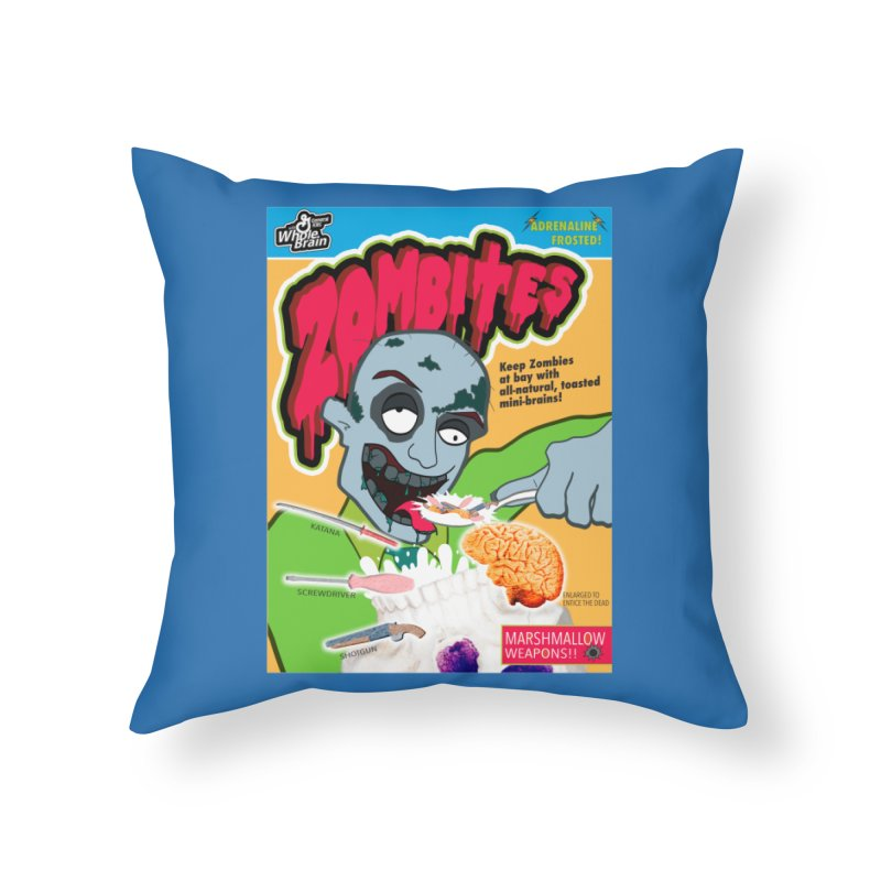 Zombites Home Throw Pillow by Kid Radical