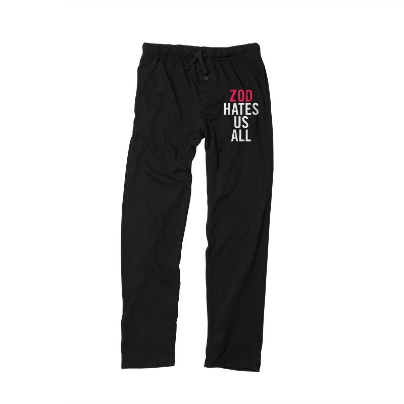 ZOD HATES US ALL Men's Lounge Pants by Kid Radical