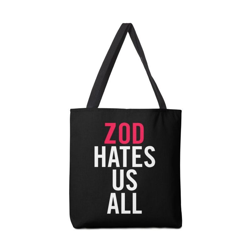 ZOD HATES US ALL Accessories Bag by Kid Radical