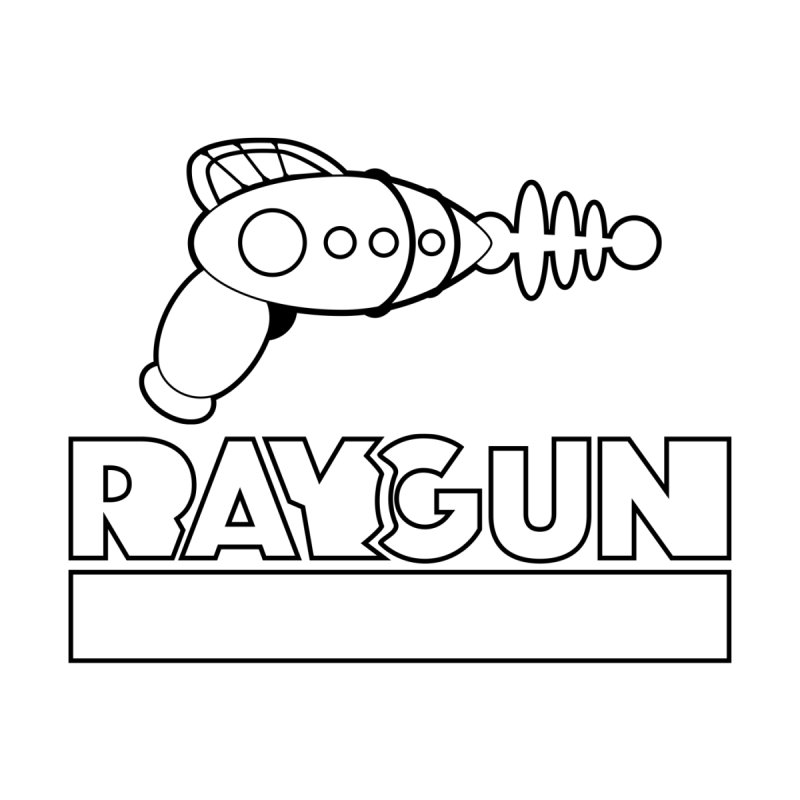 Raygun No. 1 Outline by Kid Radical
