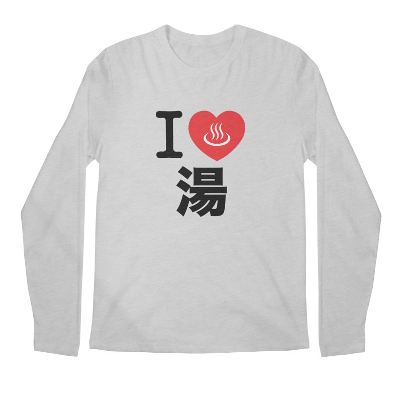 I Love Yu Men's Longsleeve T-Shirt by Kid Radical