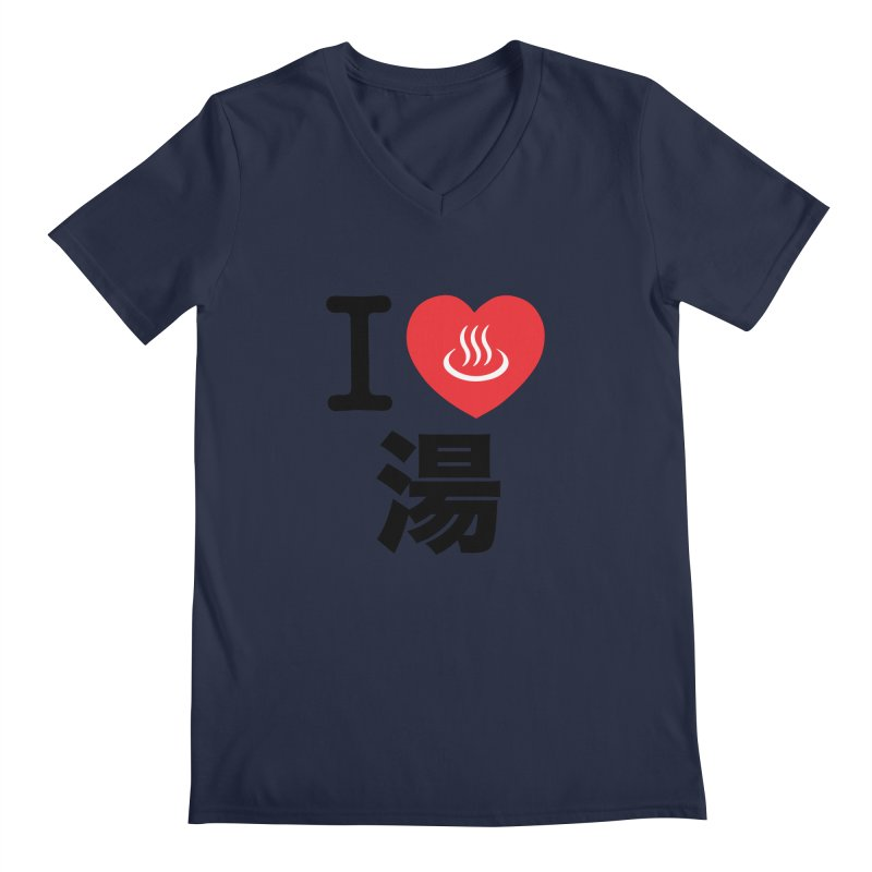 I Love Yu Men's V-Neck by Kid Radical