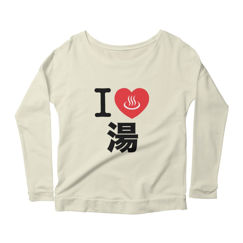 I Love Yu Women's Longsleeve Scoopneck  by Kid Radical