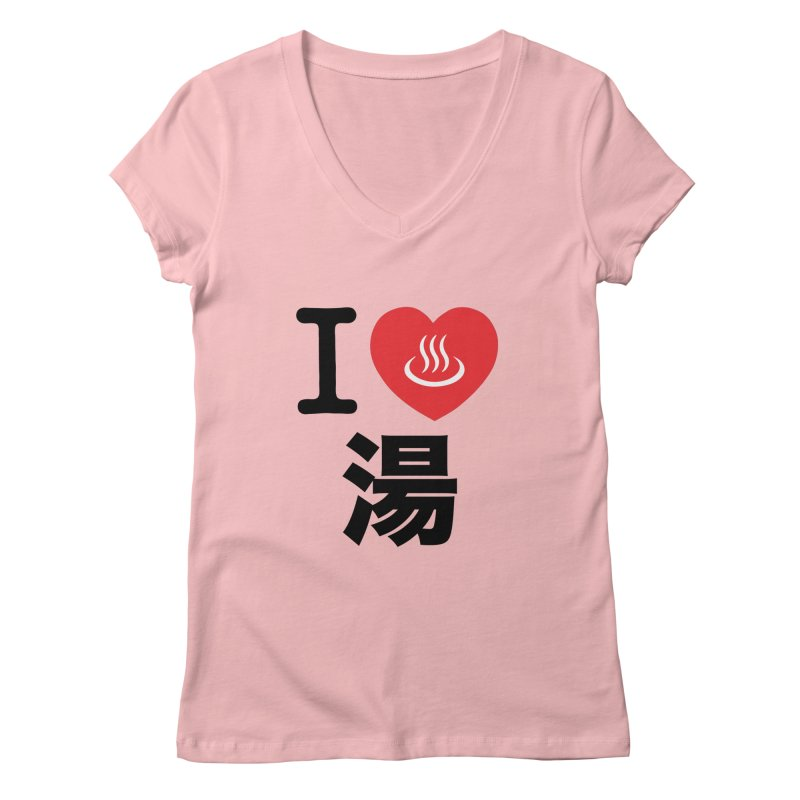 I Love Yu Women's V-Neck by Kid Radical