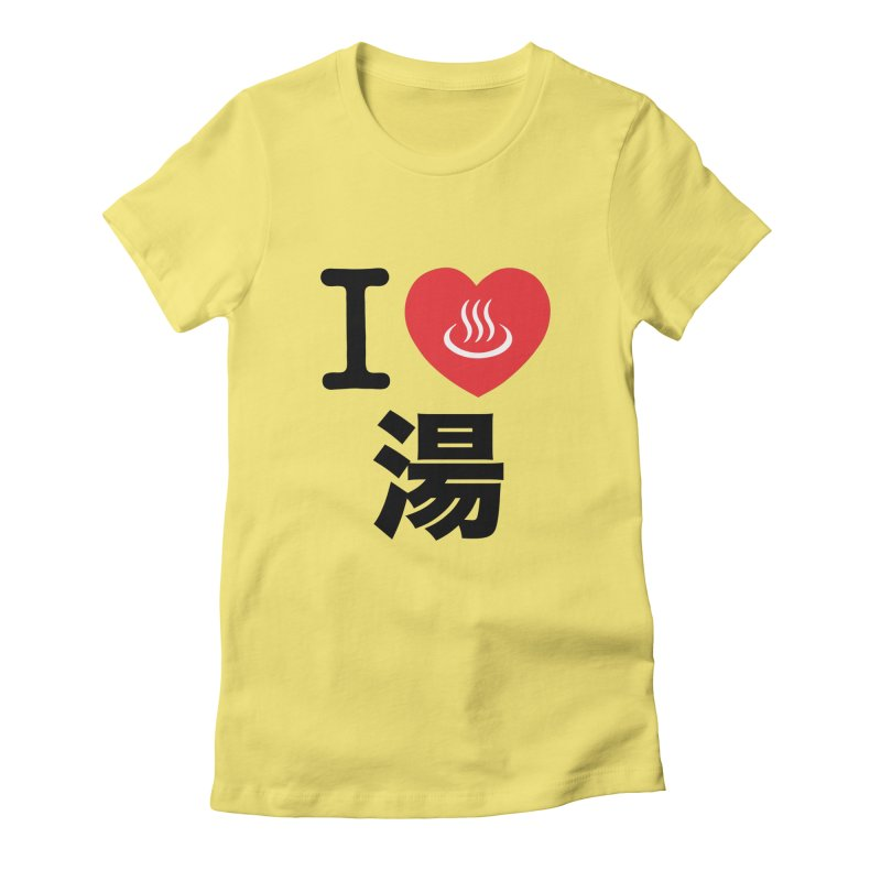 I Love Yu Women's Fitted T-Shirt by Kid Radical